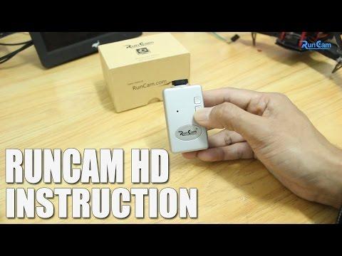 RunCam HD Instruction