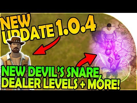 NEW UPDATE 1.0.4 -NEW DEVIL'S SNARE + NEW DEALER DEALS- Last Day on Earth Jurassic Survival Gameplay