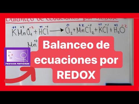 Balanceo de ecuaciones por método REDOX 3