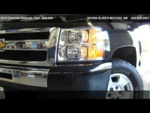 2010 Chevrolet Silverado 1500 Lt For Sale In Ruidoso Nm