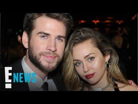 "Liam Hemsworth Enjoying ""The Husband & Wife Thing"" With Miley Cyrus   E! News"