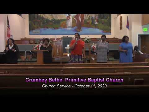 Crumbey Bethel Primitive Baptist Church - Church Service - October 11, 2020