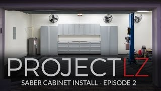 The LZ Garage Project:  Saber Cabinets E2