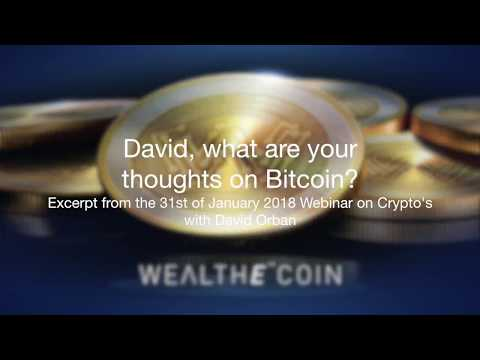 4  David Orban, Thoughts On Bitcoin