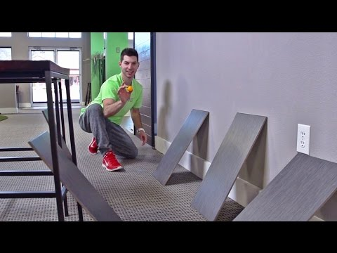 Ping Pong Trick Shots 2 | Dude Perfect