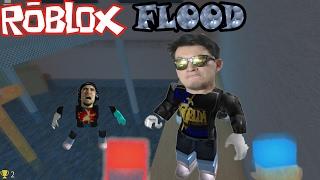 FLOOD ESCAPE - ROBLOX - IMPOSSIBLE MISION, THE RIGHT BUTTON