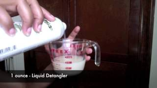 DIY Roller Setting Lotion And Leave In Mix