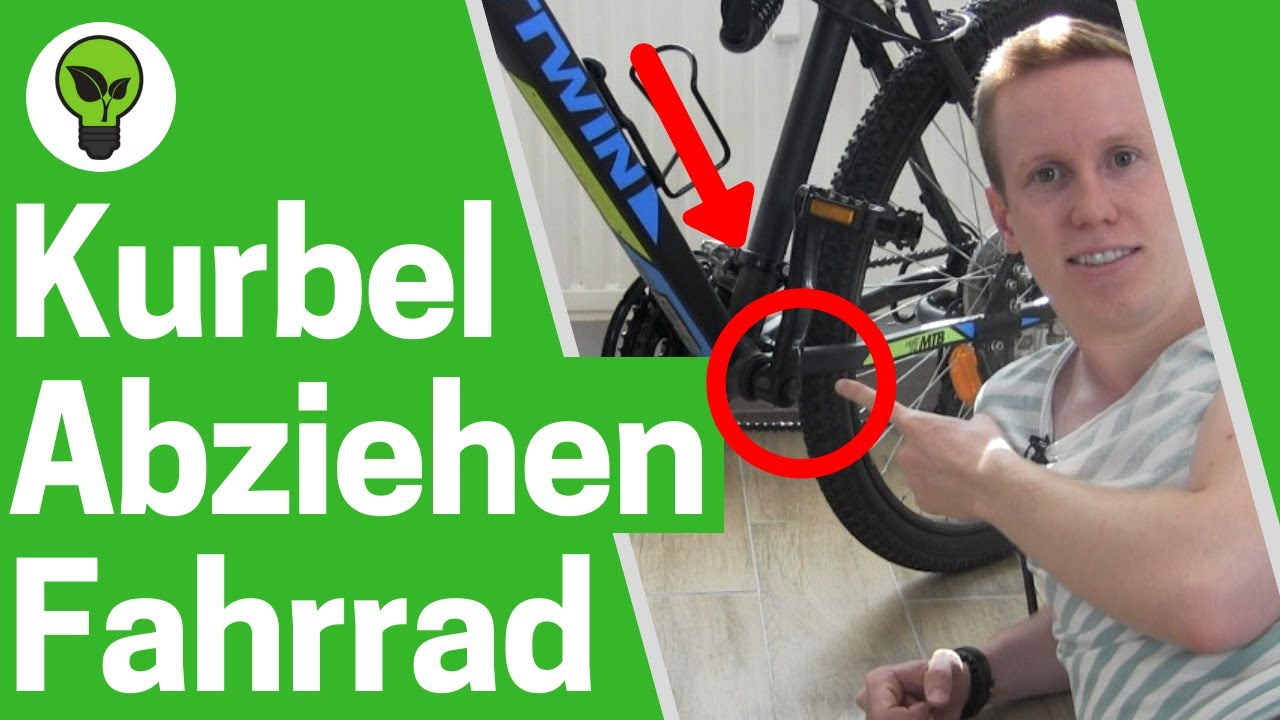 fahrrad kurbel abziehen