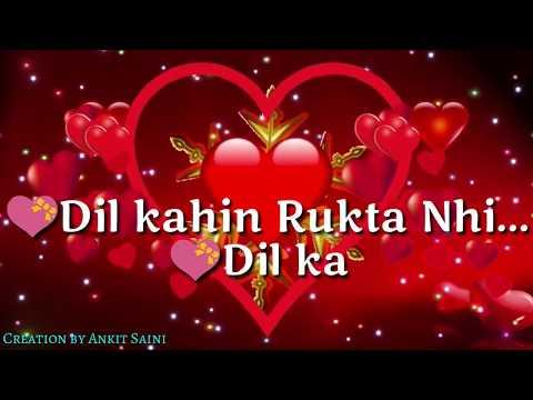 Dil Kahi Rukta Nahi || Sad Version || 30 sec WhatsApp Status Video || WhatsApp Status