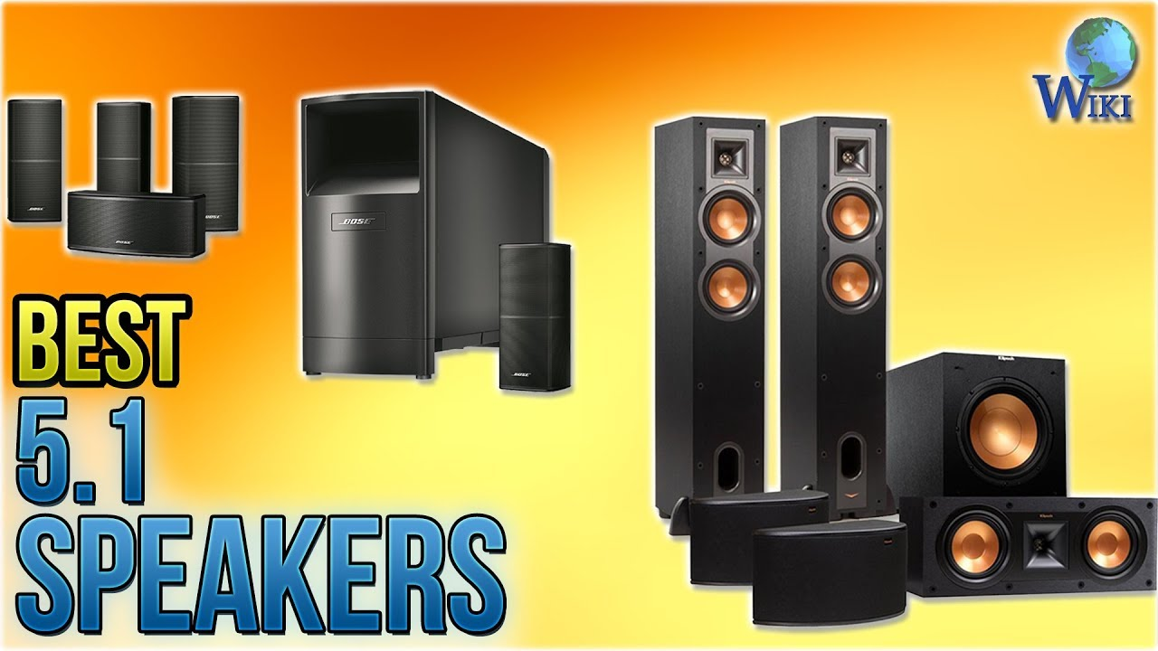 Top 10 5 1 Speakers of 2019 | Video Review