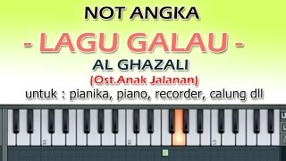 Video NOT ANGKA   LAGU GALAU   AL GHAZALI   by denny ranch download MP3, 3GP, MP4, WEBM, AVI, FLV Agustus 2017