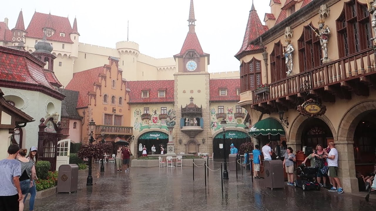 Adventures Around The World Showcase At Disney! | Taking A Closer Look At The Germany Pavilion