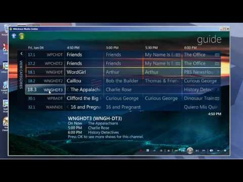 Windows Media Center TV - YouTube