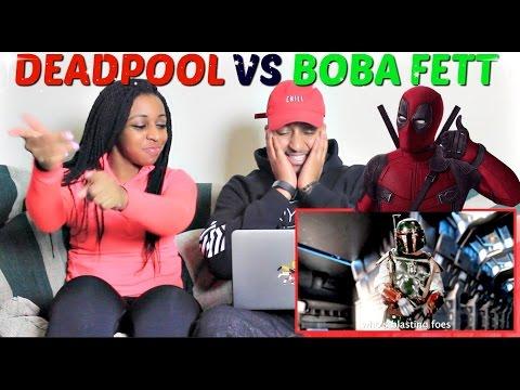 "Epic Rap Battles of History  ""Deadpool vs Boba Fett"" REACTION!!!"