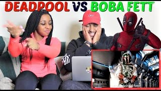 "Epic Rap Battles of History  ""Deadpool vs Boba Fett"" REACTION!!!"