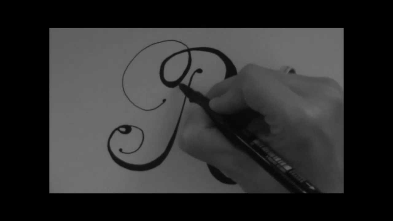 Cursive Fancy Letter  How To Write Your Beautiful Letter R  Youtube