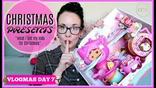 WHAT I GOT MY KIDS FOR CHRISTMAS // GIFT GUIDE 2017 // VLOGMAS DAY 7