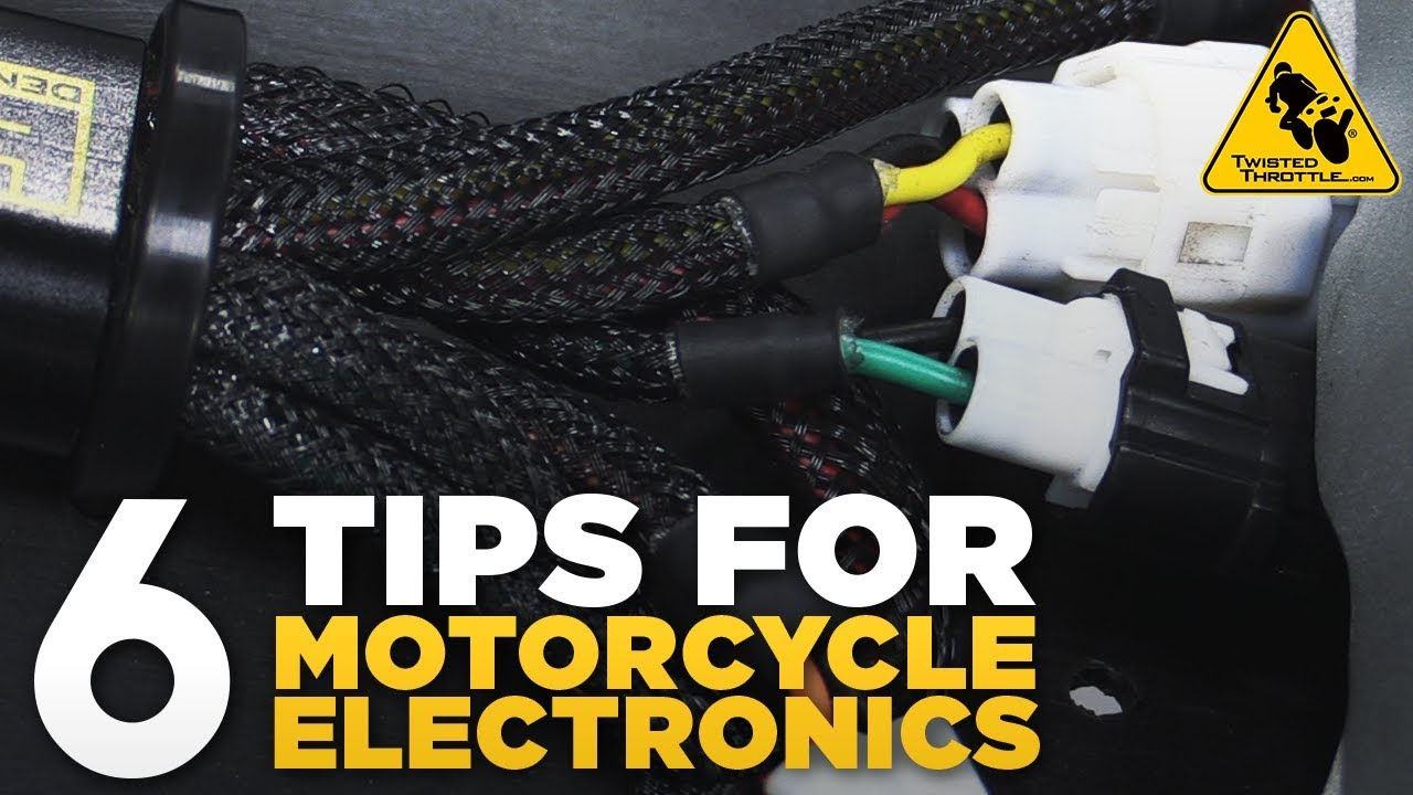 Find A Motorcycle's Brake, Tail Light, & Turn Signal Wires