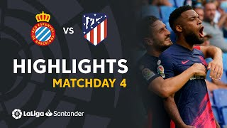 Resumen de RCD Espanyol vs Atlético de Madrid (1-2)