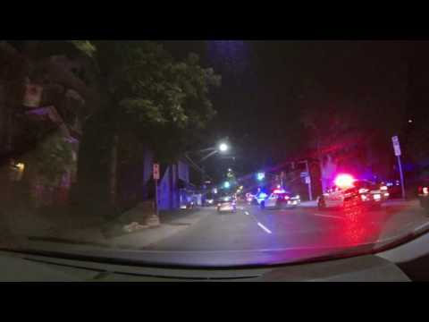 Car Accident On Queen Street (Hamilton)