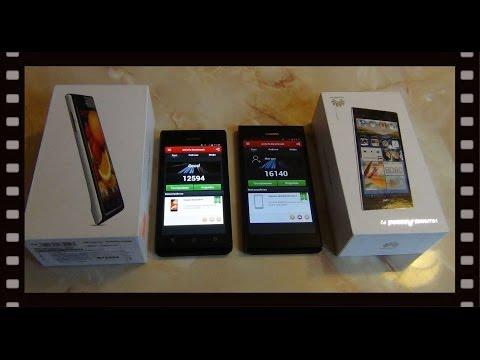 Обзор двух смартфонов - Huawei Ascend P1 и P2 / Арстайл /