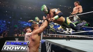 Dolph Ziggler & The Lucha Dragons Vs. The League O