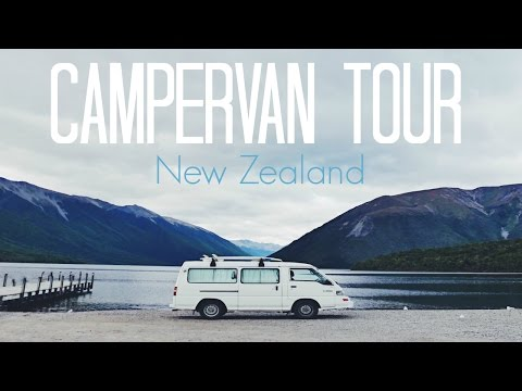 NEW ZEALAND CAMPERVAN TOUR // VANLIFE