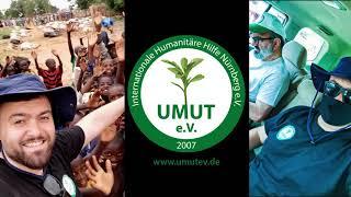 Afrika Nijer de 1. Günüm VLOG KURBAN 2020 UMUT  e. V.