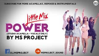 Little Mix Power Studio Acapella Vocals Only