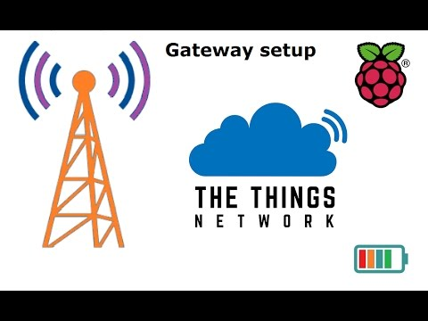 set up a LORA gateway to The Things Network