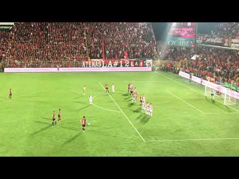 gol Liga Deportiva Alajuelense  vrs San Carlos semifinales 2018