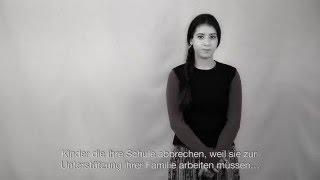 Bir Umut da Sen Ol/ Sei du auch ein Stück Hoffnung - Spendenaktion