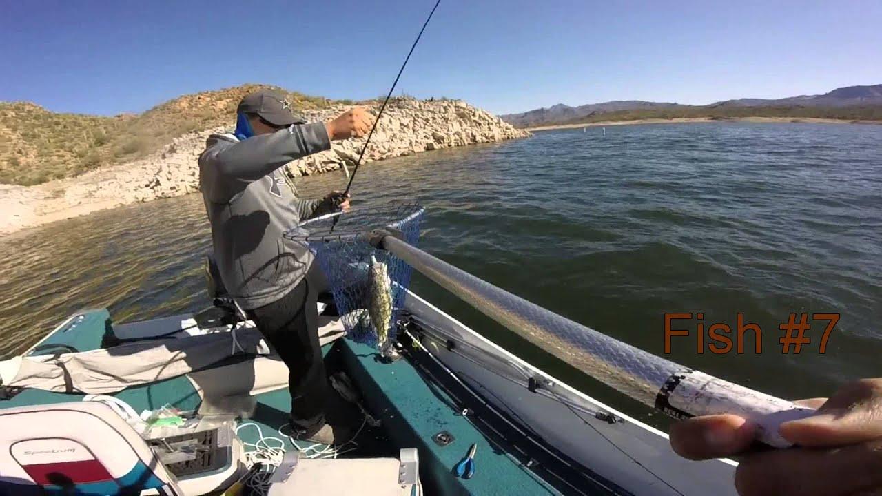 Bartlett lake az 2016 youtube for Bartlett lake fishing report