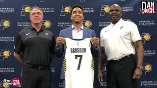 Malcolm Brogdon Discusses Joining The Pacers with Dan Dakich