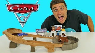 Cars 3 Thomasville Racing Speedway Trackset ! || Disney Toy Review || Konas2002