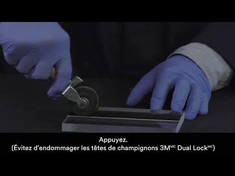 Attache refermable Dual Lock 3M