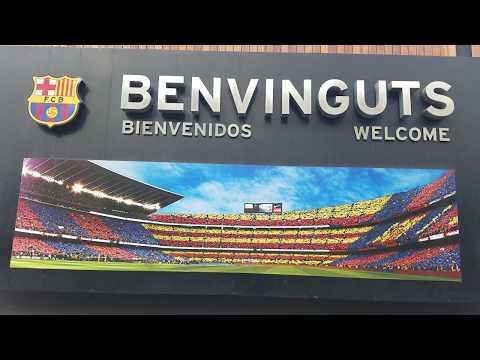 Camp Nou Stadium Barcelona España