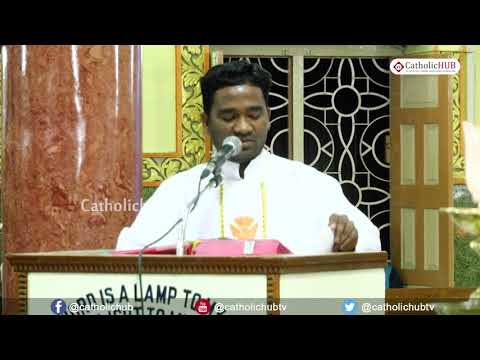 English Mass @Shrine Of Our Lady Of Health, Kirathabad, Ts, INDIA 11 2 19