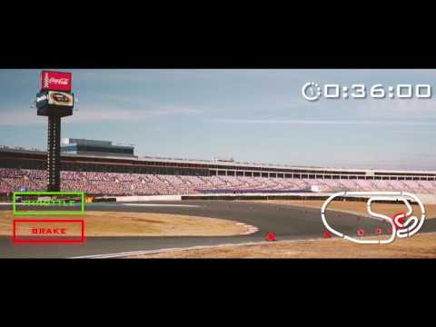 Take A Lap At The Charlotte Motor Speedway ROVAL With A.J. Allmendinger