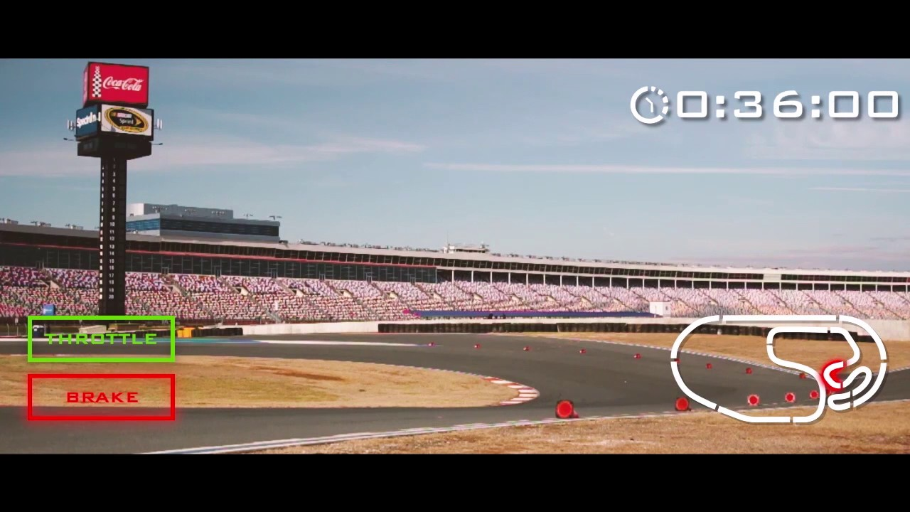 Take A Lap At The Charlotte Motor Speedway Roval With A J