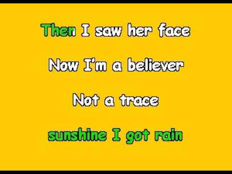 DISRADIO 04   I'm a Believer   Radio Disney [karaoke]