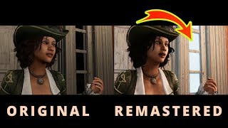 AC3/Assassins Creed Liberation Remastered VS Original Liberation HD Side by Side Graphics Comparison