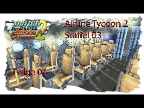 Let's Play Airline Tycoon 2 S03E04 - Problemroute Frankfurt - Kingston [GERMAN HD]
