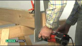 Lignatool Dovetail Mortise And Tenon Router Template Jig System