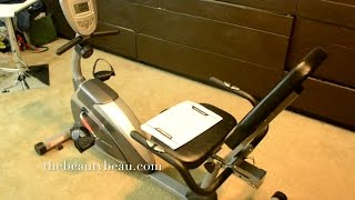 FITNESS: 900XL Magnetic Recumbent Bike with Pulse Review
