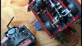 как сделать из железного конструктора машину инструкция