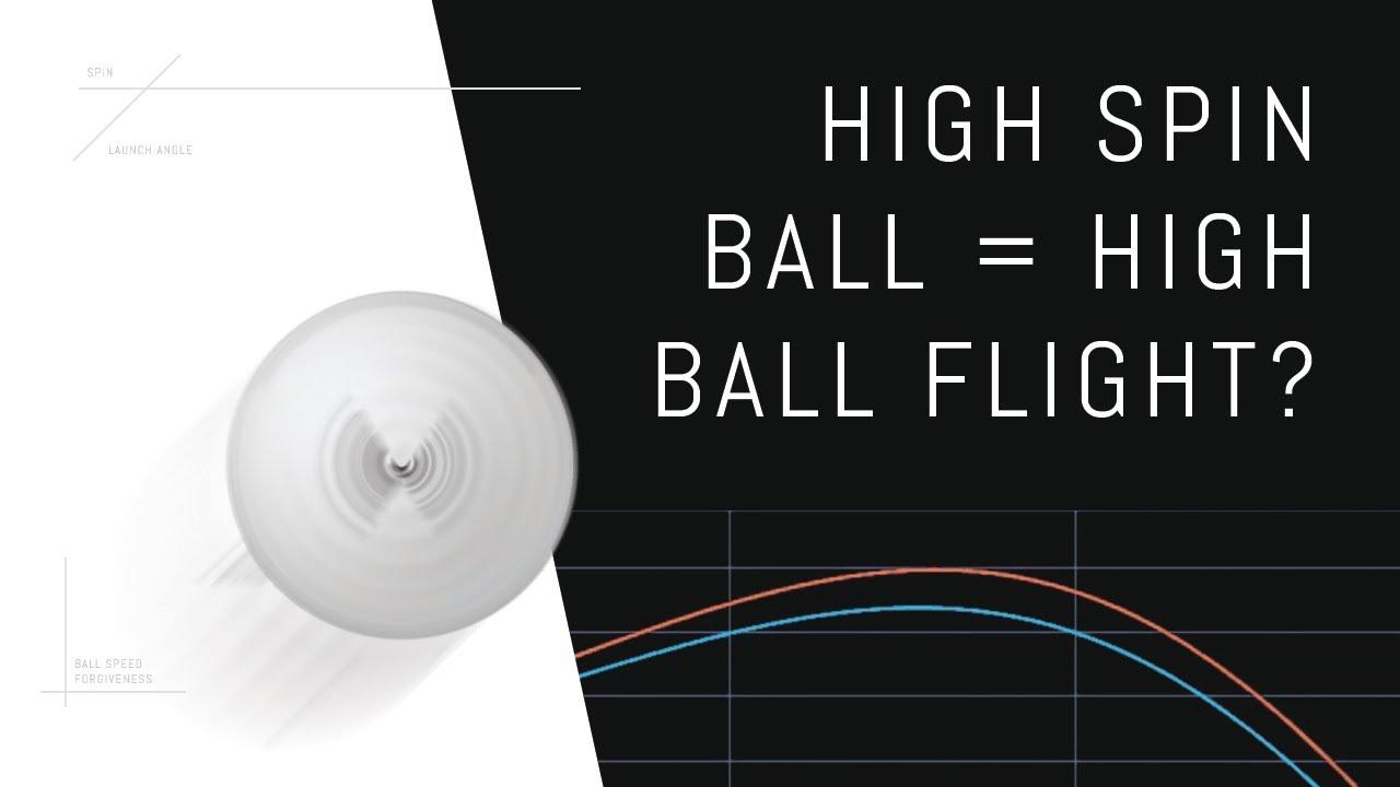does high spin ball high ball flight  [ 1280 x 720 Pixel ]