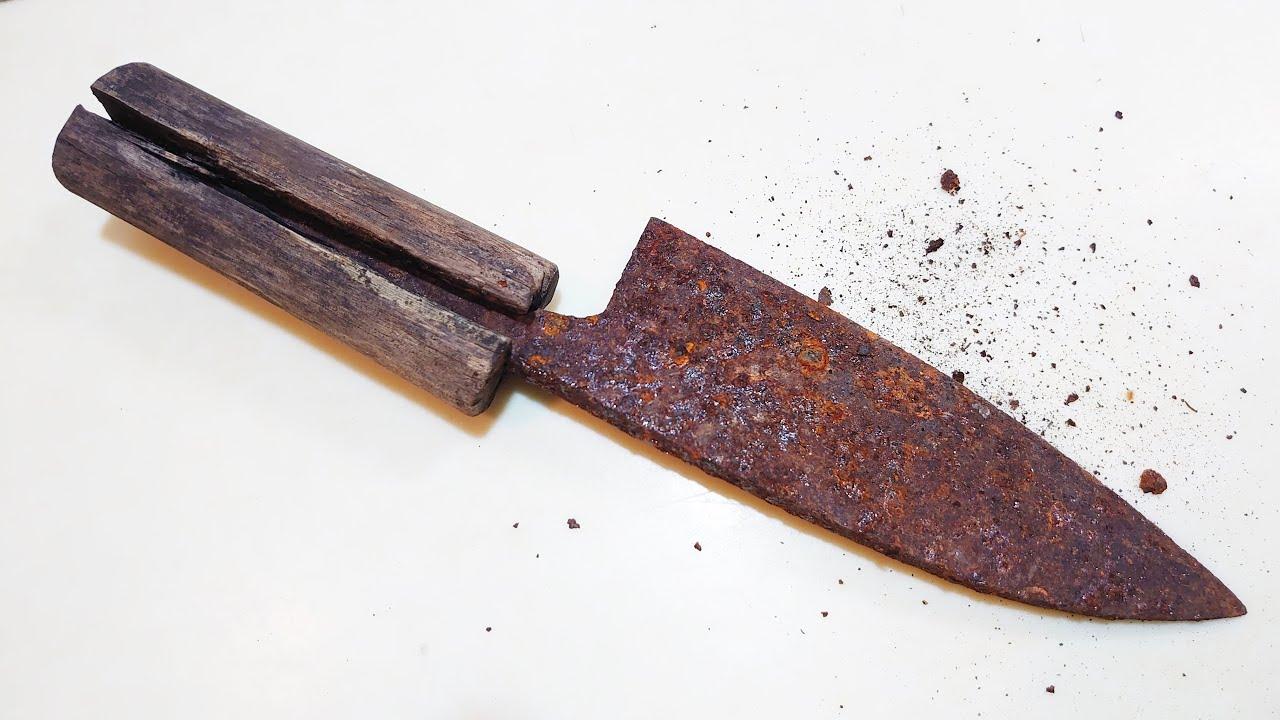 本物のサビ包丁ってモノを見せてやんよ【包丁研ぎ】【刃の黒幕】Knife sharpening