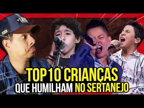 10 CRIANÇAS QUE HUMILHAM CANTANDO SERTANEJO