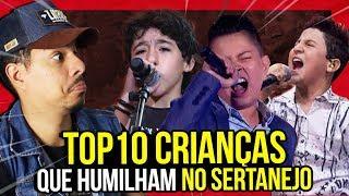 Baixar 10 CRIANÇAS QUE HUMILHAM CANTANDO SERTANEJO!